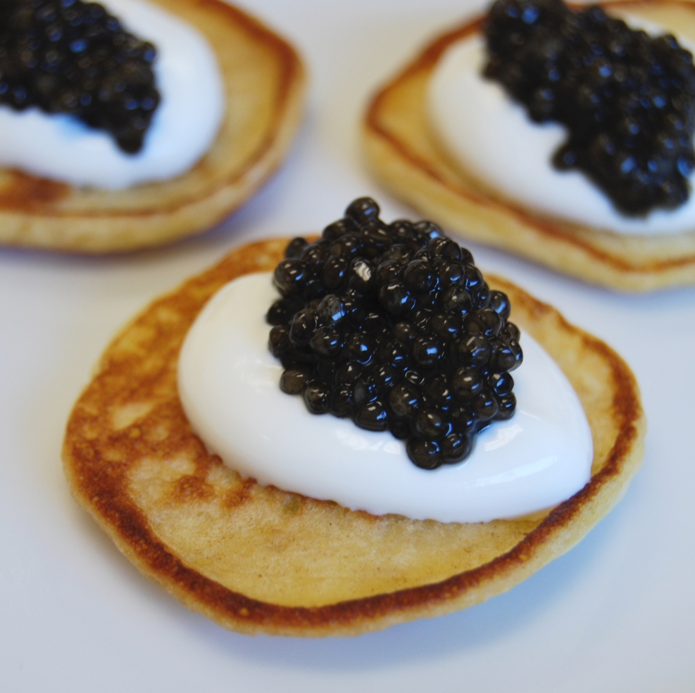 Caviar Blini 2
