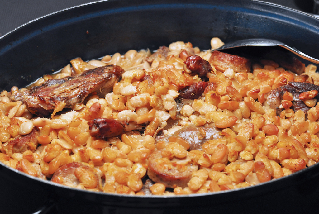 Cassoulet made from our recipe kit, sent in from a customer, Karine.