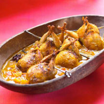 Quail-in-Beet-Apricot-and-Tomato-Chutney
