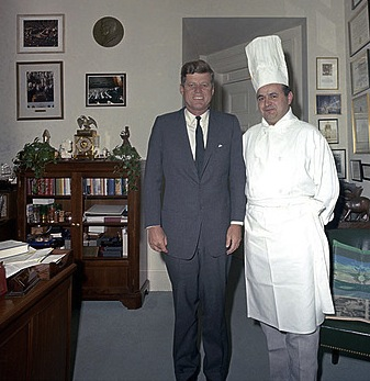 jfk & chef rene verdon