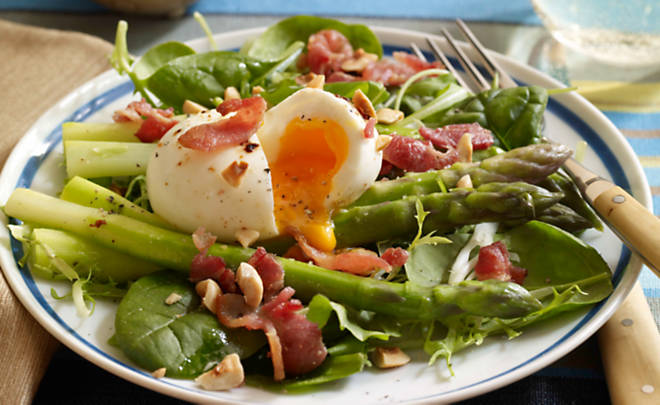 Dorie Greenspan's Bacon, Eggs and Asparagus Salad