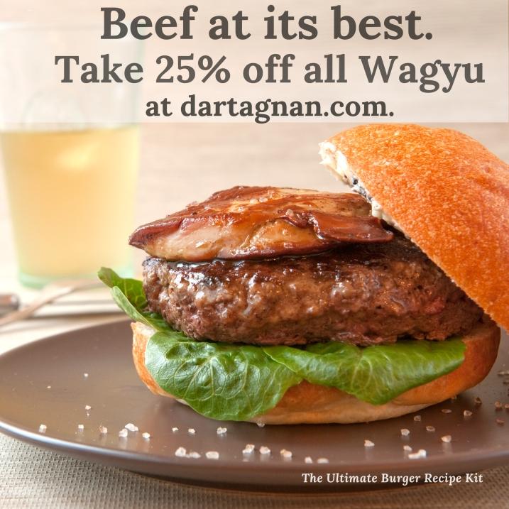 Wagyu Sale 25% foie burger image