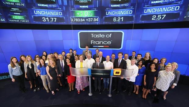 Taste of France at NASDAQ
