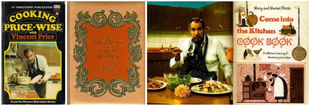 vincent price cookbooks