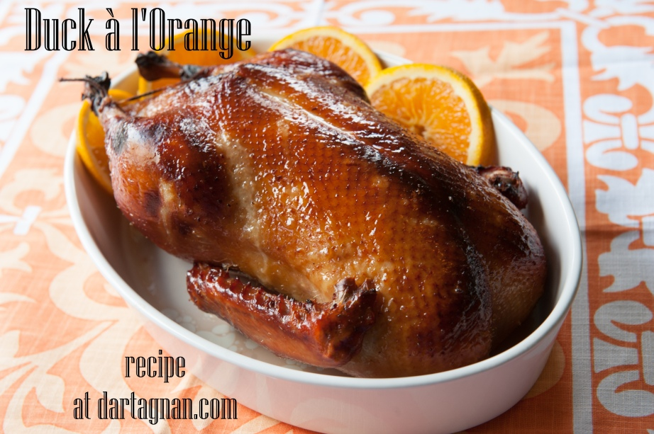 Duck a la orange recipe