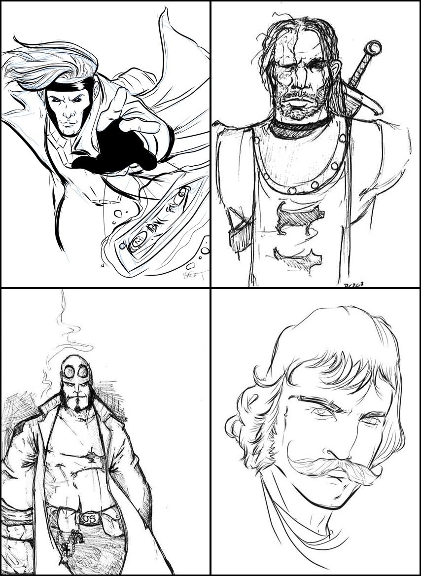 Bryan G Drawings