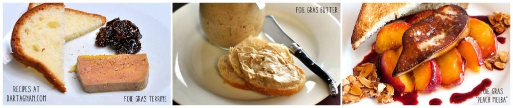 foie gras recipes panel