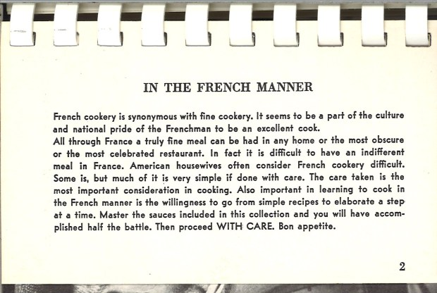 In the French Manner