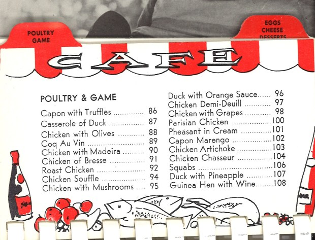 poultry and game
