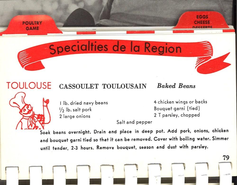 Toulouse Cassoulet