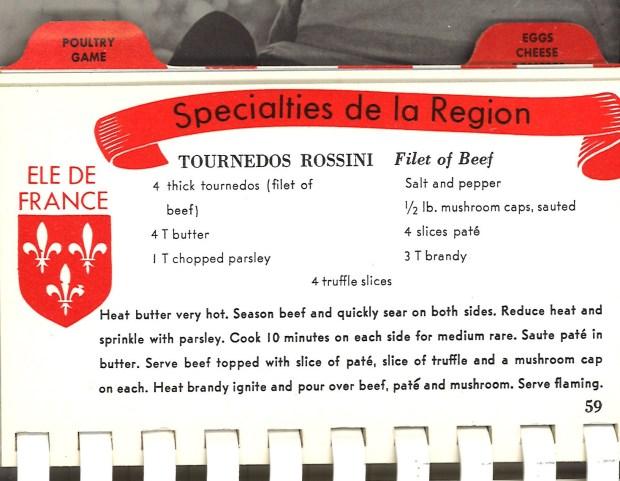 Tournedos Rossini