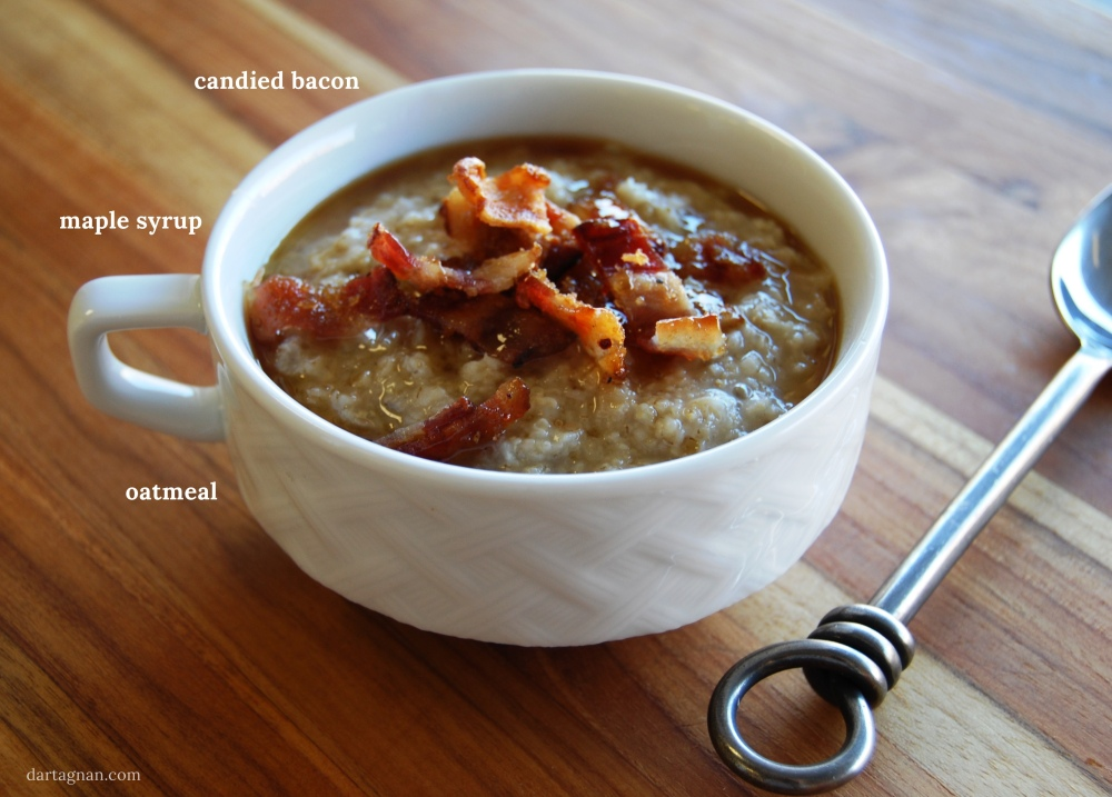 Oatmeal with bacon2 CAPT