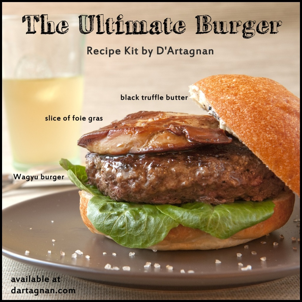 Ultimate Burger Graphic