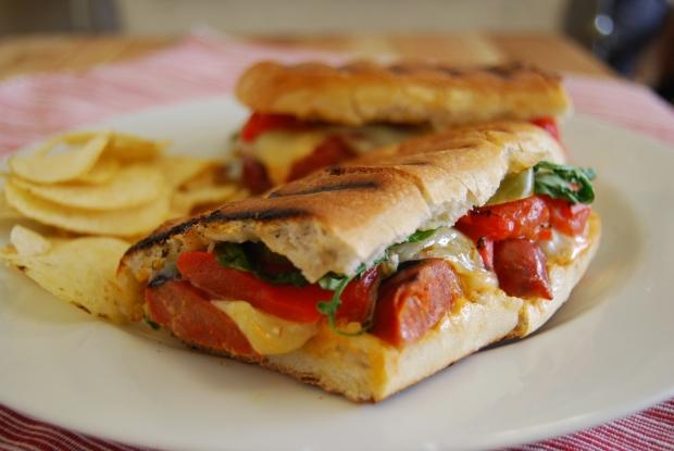 Chorizo Sandwich 2