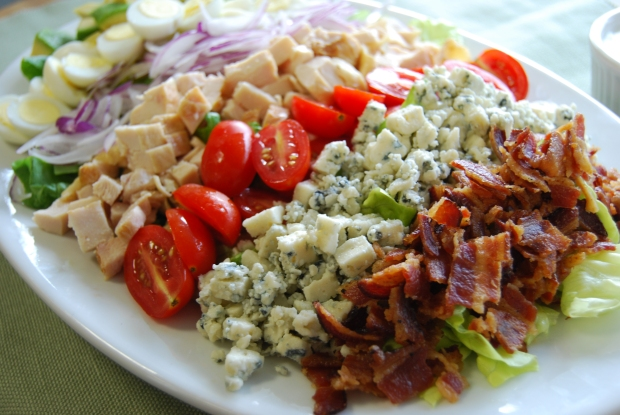 The classic Cobb salad gets a D'Artagnan spin with smoked chicken ...
