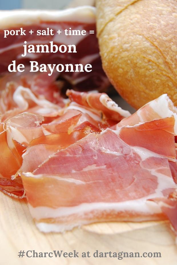 jambon de bayonne equation CharcWeek