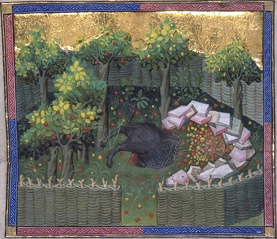 Book of the Hunt Gaston Phoebus BOAR