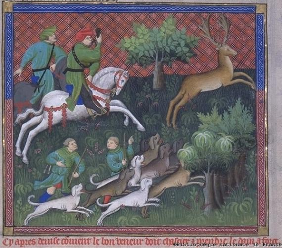 Book of the Hunt Gaston Phoebus DEER