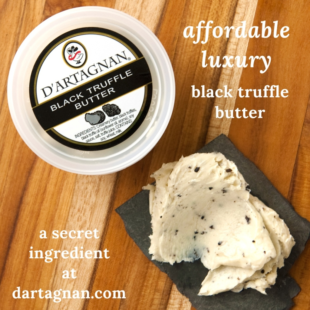 Secret ingredient truffle butter