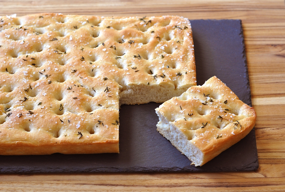 Duck Fat Foccacia Bread