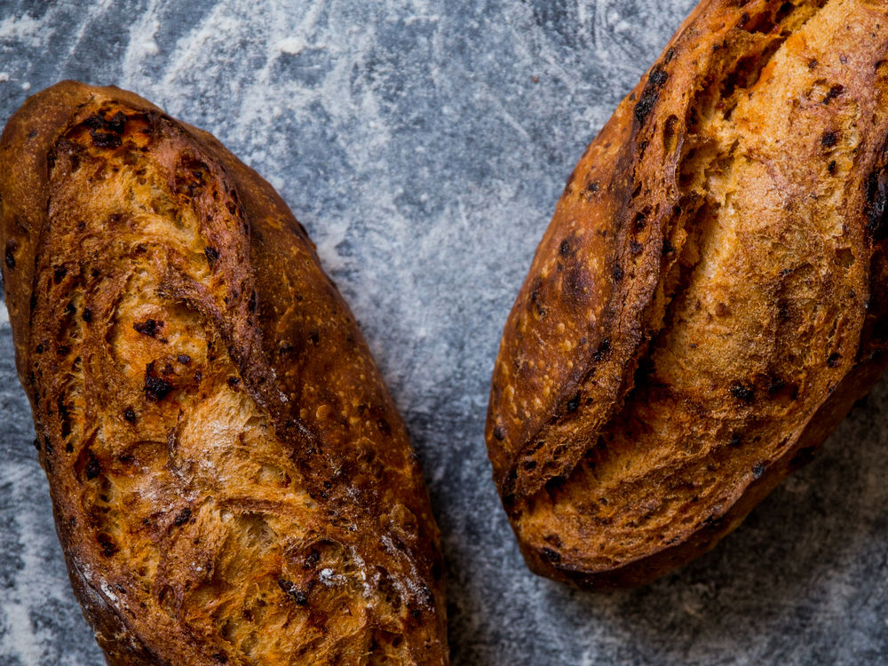 Saveur photo by Joann Pai Beaujolais Chorizo Bread