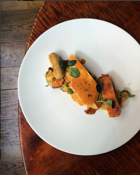 gramercy-tavern-chicken-breast-w-corn-chanterelles-mushroom-bacon