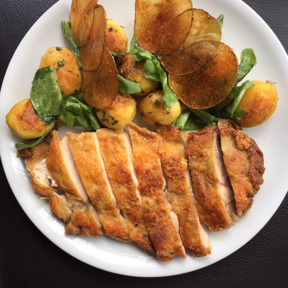 rebelle-chicken-with-confit-potato-and-lemon-preserve