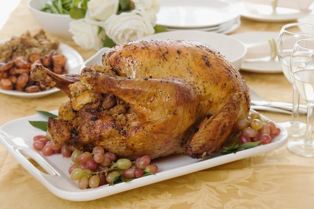 roast-turkey-with-bourbon-pecan-stuffing-recipe