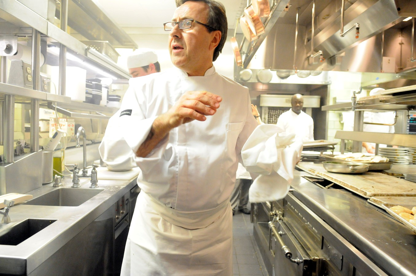 Daniel Boulud 32 Star Dinner 2010 In His Kitchen