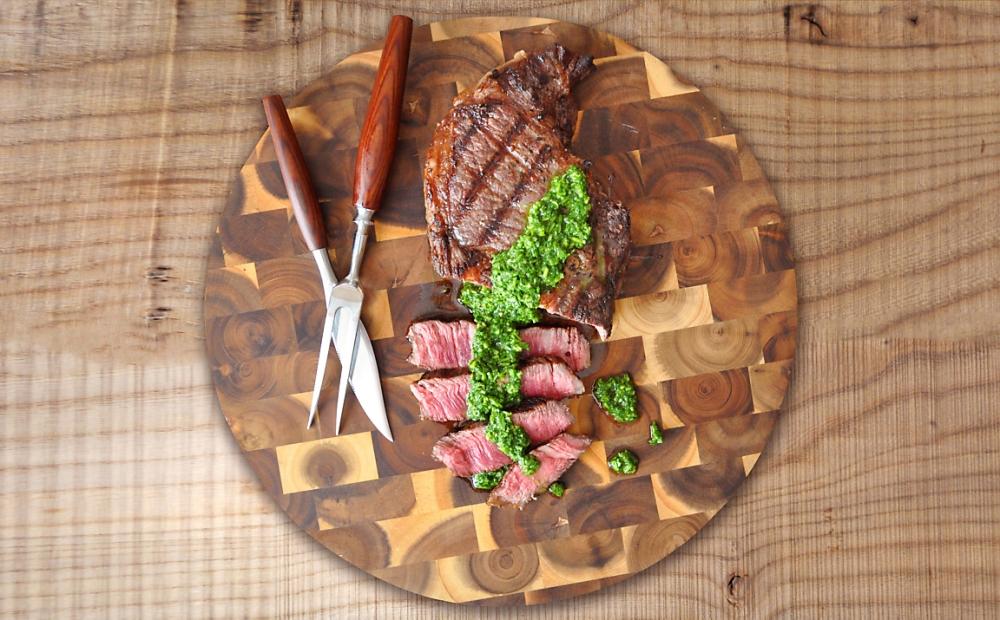 grilled-rib-eye-steak-with-chimichurri-sauce-recipe