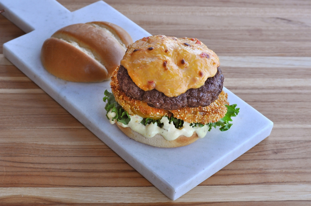 southern-burger-pimento-cheese-fried-green-tomatoes-recipe